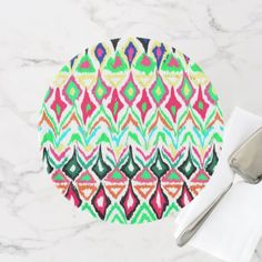 Cute colorful navaho pattern cake stand  $55.83  by ForArt  - cyo customize personalize unique diy idea