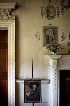 Another detail of the Print Room at Castletown House, Celbrdge, Co. Kildare, Ireland. (photo by Paul Raeside)