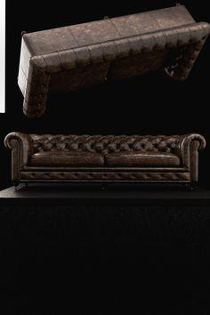 sofa collide vray