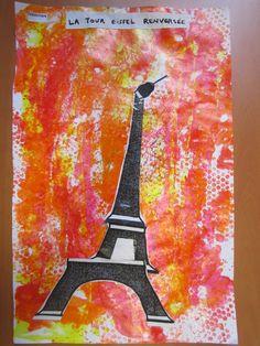 La tour Eiffel renversée.