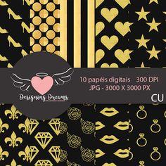 Free Digital Scrapbooking, Digital Scrapbook Paper, Digital Paper Freebie, Bow Pattern, Pattern Paper, Kit Digital, Planners, Halloween Scrapbook, Design Case