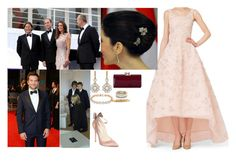 """""""Attended the 10th annual Absolute Return for Kids (Ark) Gala Dinner at Kensington Palace."""" by pacqueline-ngoya ❤ liked on Polyvore featuring GALA, Oscar de la Renta, Brian Atwood, duty free and Ted Baker"""