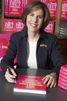Dr. Judith Beck at the book signing for The Beck Diet Solution - get your copy at http://amzn.com/0848732758