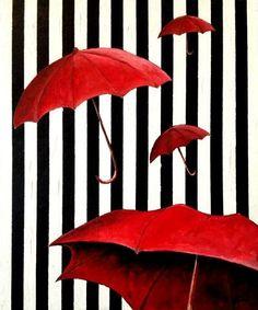 Ne paraplu kan mij nu niet bekoren, Gettem nog of gettem verloren. Gettem mee of gettem vergeten, maar Ik heb er nog geen één versleten!