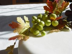 Sugarcraft grapes