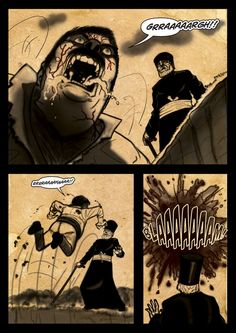 Rise of the undead... It's a Vampire!!! (page 12) by Gocce & Sejver #vampire #horror #comics #fantasy
