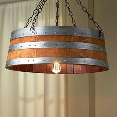 The wine barrel may be recycled as artistic issues. I noticed probably the most superb home items that have been utterly reworked from an outdated wine barrel.