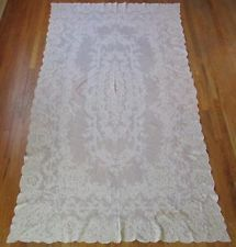 Exquisite Antique French Alencon Banquet Tablecloth + 12 Napkins OH MY! Vintageblessings