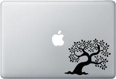 Small Tree - Mac Stickers #macbook #decals #art #design #apple #macdecals #macdecal