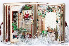 """Happy Days with Julia Kissel: Завершающий этап СП """"Очарование снежности"""" Альбом готов!"""
