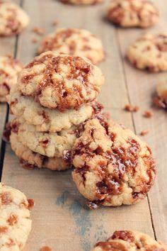 Cookies aux éclats de caramel au beurre salé