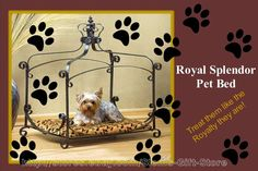 $54.95 & Free Shipping DOG BED PET CAT PUPPY PRINCESS LUXURY KING / QUEEN OF THE JUNGLE ANIMAL PRINT http://stores.ebay.com/Slems-Gift-Store or order directly from me at dslem3@yahoo.com for 20% off anything in the store!