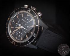 Jaeger LeCoultre Deep Sea Chronograph Cermet   Also For Patina Fans photo