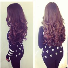 I want hair like this!!!! Love it