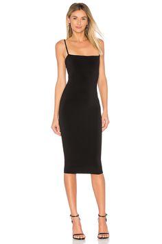 Nookie Charlize Midi Dress in Black | REVOLVE