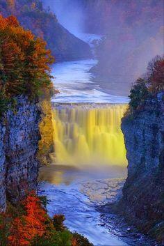 Genesee River, New York,USA