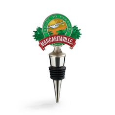 Margaritaville Logo Enamel Bottle Stopper