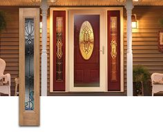 painted front doors with side panels - Google Search