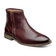 Flagstone Zip Boot - Chocolate - MEN'S -Boots - florsheim.com  Size 9M