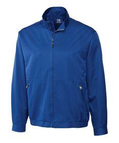 Another great find on #zulily! Tour Blue WeatherTec Whidbey Jacket - Men #zulilyfinds