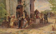 Михаил Нестеров Троицын день (эскиз неосуществленной картины). 1881 г. Третьяковская галерея