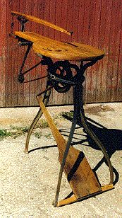 Barnes foot treadle scroll saw  ```can i have it, please?