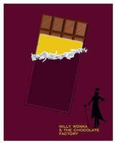 Willy Wonka and the Chocolate Factory by purplecowposters