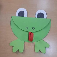 frog-craft-idea  |   preschool crafts and worksheets