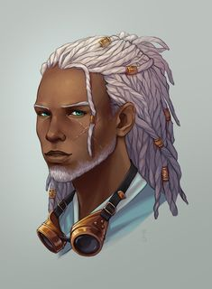 Character Design Inspiration, Black Characters, Character Design, Character Art, Character Inspiration, Character Portraits, Black Anime Characters, Steampunk Characters, Art