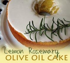 Lemon Rosemary Olive Oil Cake - Amanda's Cookin'