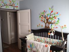 Skiphop Treetop Friends Nursery this is the stuff i already got, so i need the matching decal and stuff!