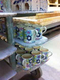 Emma Bridgewater Daisy Chain 0.5 Pint Mugs for John Lewis 2014