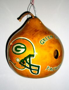 Hey, I found this really awesome Etsy listing at http://www.etsy.com/listing/118927123/green-bay-packers-gourd-birdhouse-hand