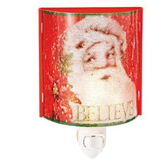 Midwest-CBK Believe Santa Christmas Night Light (117338) *** Read more reviews of the product by visiting the link on the image. (This is an affiliate link and I receive a commission for the sales)