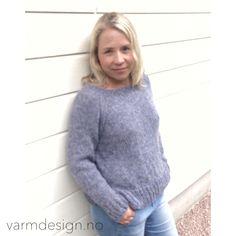 Sommerfin-genser fra / summer sweet jumper from varmdesign.no