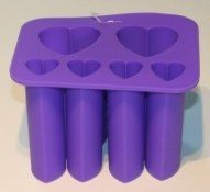 Amazon.com: Silicone Heart Shaped Tube Mold: Home & Kitchen >> embbeded soap making