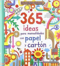 365 ideas para manualidades con papel y cartón -  http://tienda.casuarios.com/365-ideas-para-manualidades-con-papel-y-carton/
