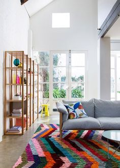 The Design Files Open House 2012.  Furniture by Jardan, rug by Loom Rugs. www.thedesignfile...