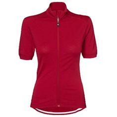 Vulpine Merino Alpine Women's Cycling Jersey - Claret | VeloVixen