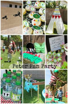 disney peter pan party