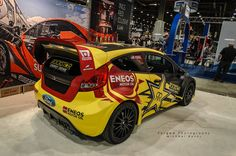Tanner Faust's 2013 Ford Fiesta Rally Car   Forged Photography
