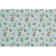 Wilko Kids Gnome Gift Wrap 12m Christmas Home, Vintage Christmas, Gnomes, Presents, Gift Wrapping, Make It Yourself, Holiday Decor, How To Make