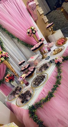 Pink Desserts, Birthday Wallpaper, Baby Shower Gender Reveal, Decor, Decoration, Decorating, Deco