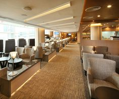 Business Lounge At Stavanger Airport Sola Designed By