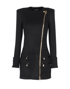 LOVEEEE this Balmain coat.   The asymmetrical zipper!!
