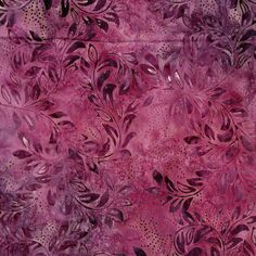 "Batik By-The-Yard; Tonga Batik - Purple; Batik yardage; Cotton fabric yardage; 44"" wide; Batik Fabric by Timeless Treasures (B9838-PRPL)"