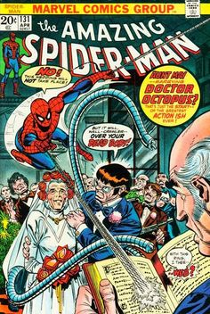 Amazing Spider-Man #131, Dr Octopus marries Aunt May