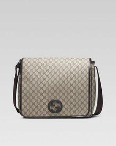 GG Plus Flap Messenger by Gucci at Neiman Marcus. Sac Pas Cher, Sacs À 76fc573fa36