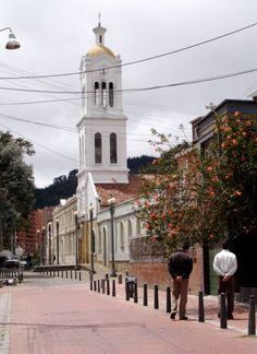 Iglesia de Usaquén. Bogotá.