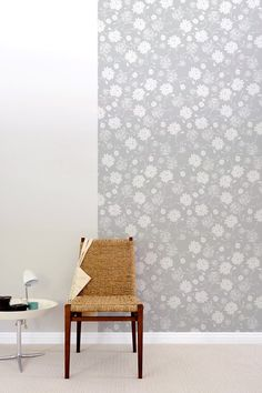 Pattern Wall Tiles by BLIK are eco-friendly fabric wall decals. Psychedelic Garden by Threadless features a soft flower pattern for a pretty home decor. Patterned Wall Tiles, Interior And Exterior, Interior Design, Interior Door, Interior Decorating, Decorating Ideas, Temporary Wallpaper, Removable Wall, Wall Patterns